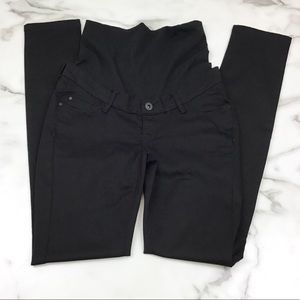 Noppies 27 Black Maternity Skinny Jeans Belly Band